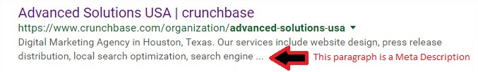 Meta Description Optimization